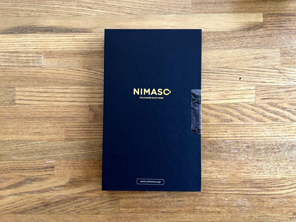 NIMASOガラスフィルムは梱包からキレイ