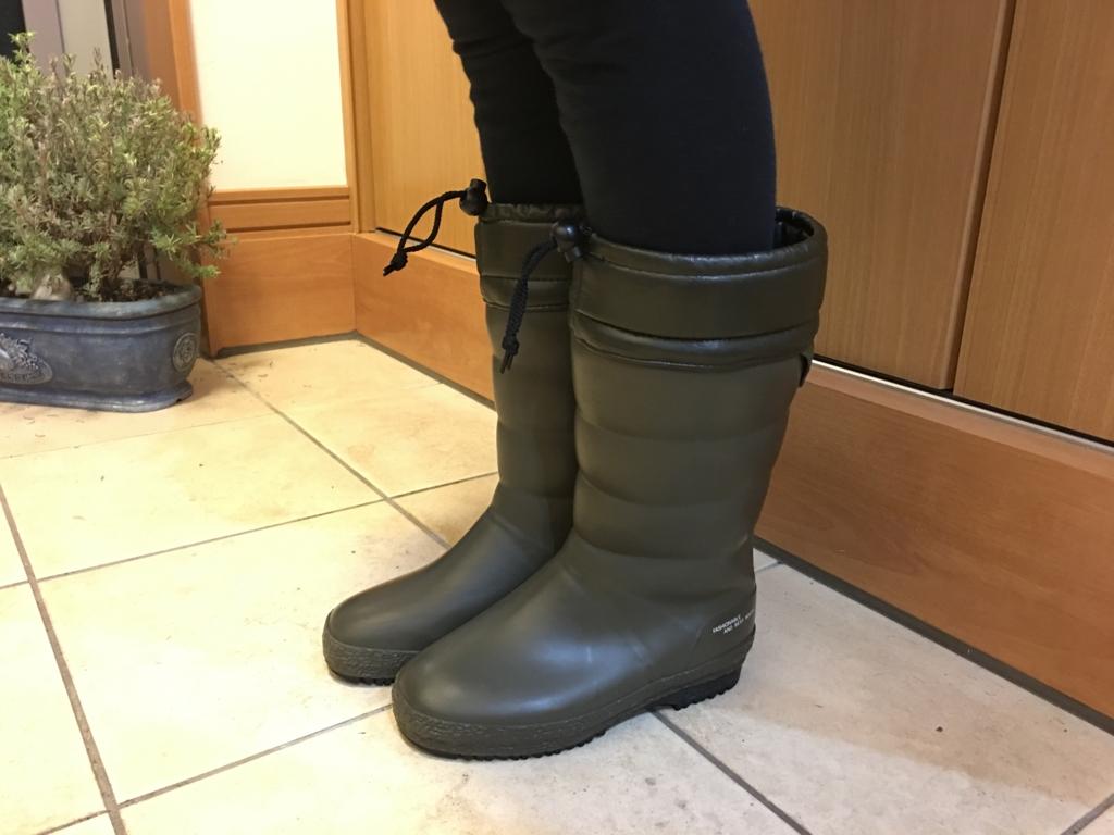 以外にかわいい第一ゴムの長靴